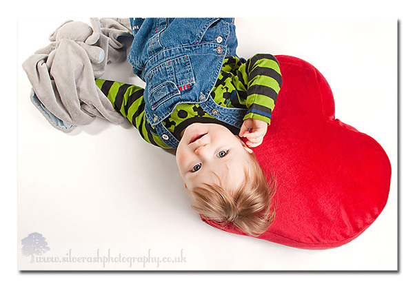 I love this one in particular - Lewis and his heart cushion!