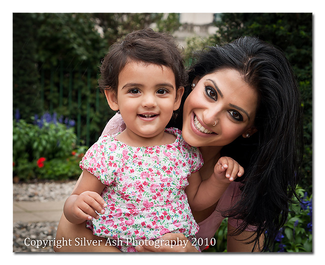 Cute as a button Samaira with her gorgeous mother Sunaina
