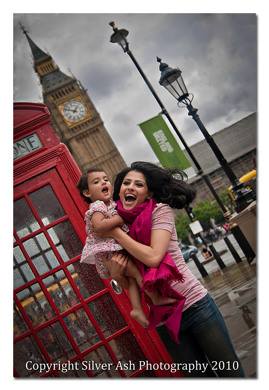 Mother and Daughter and some iconic London images